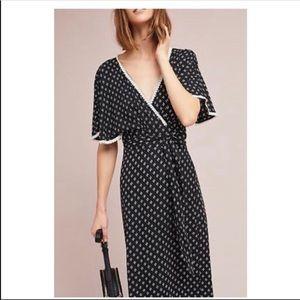 Beachgold (anthropologie) wrap dress size small